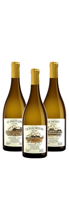 Trio de Vouvrays Secs 2016