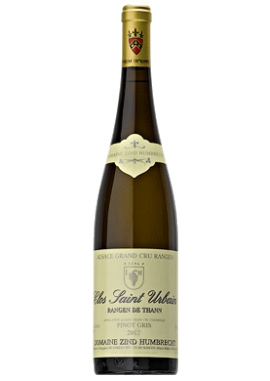 Clos Saint-Urbain Rangen de Thann GC Pinot Gris