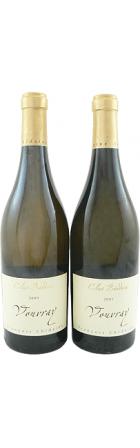 Vouvray sec Clos Baudouin 2007 et 2009