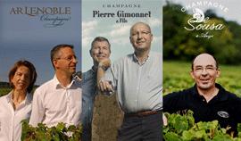 AR Lenoble, De Sousa, Gimonnet : trio gagnant en Champagne