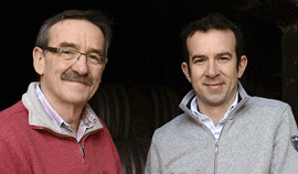Bernard Baudry : rares chinons blancs au top de l'appellation
